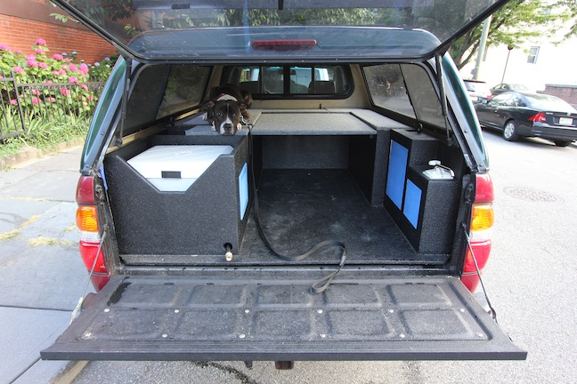 truck cabinet conversion. | SARDINETACO