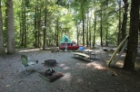 campsite in the Smokey Mountains