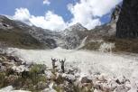Glacier near Huarez